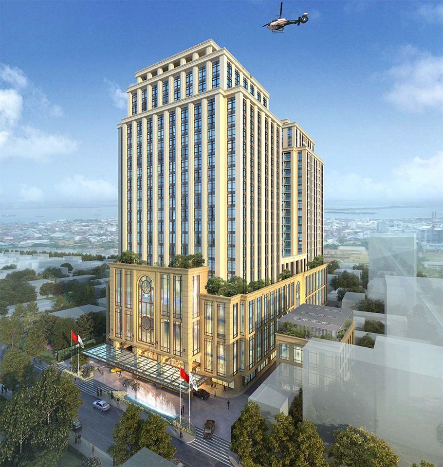 Cung cấp vật tư và thi công xây lắp hệ thống sàn cáp DUL cho dự án khách sạn Hilton Hải Phòng