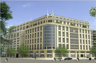 Trung tâm thương mại và giới thiệu sản phẩm