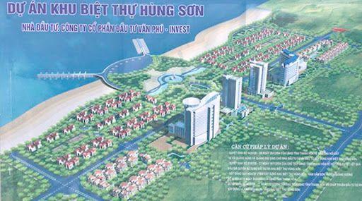 Tư vấn giám sát thi công và lắp đặt thiết bị Dự án Đầu tư xây dựng và kinh doanh hạ tầng Khu biệt thự Hùng Sơn