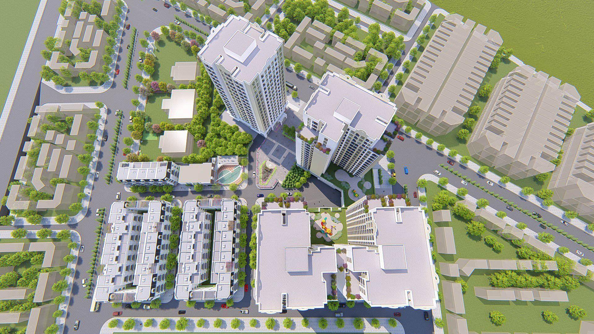 Tư vấn giám sát thi công xây dựng và lắp đặt thiết bị công trình Chung cư cao tầng GP1, GP2, GP3 dự án Nhà ở xã hội số 02 thành phố Lạng Sơn