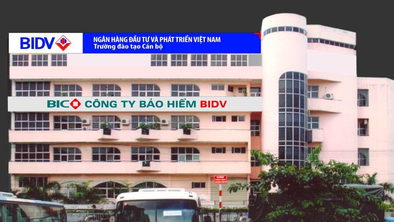 Công trình Tòa nhà Trường đào tạo cán bộ BIDV